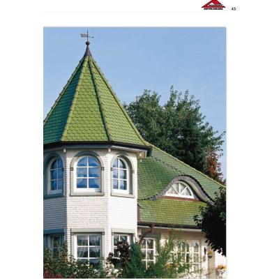 Дом  с керамической плиткой 1
